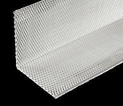 Obrzeże separacyjne z siatki aluminiowej