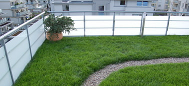 Dachy zielone - Trawnik na dachu